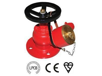 Oblique Landing Valve for Fire Hydrant System