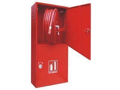 Vertical Double Cabinet for Fire Hose and Fire Extinguisher
